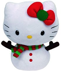 Hello Kitty - Baby Snowman Plush - 15cm 6
