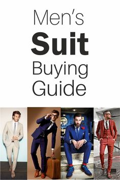 Men's Suit Buying Guide