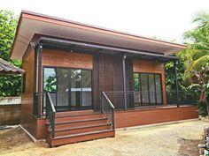 บ้านสไตล์โมเดิร์นเพิงหมาแหงน พร้อมเฉลียงชมสวนรอบบ้าน งบประมาณ 350,000 บาท | NaiBann.com