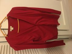 Monsoon Red Cardigan - Size 10  #Monsoon #Cardigan