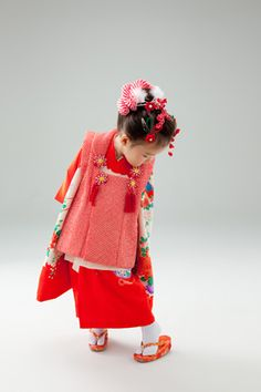 Traditional Japanese Clothes :D for a special Festival especially for Kids