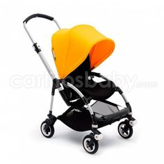 The Bugaboo Bee is lightweight, compact, and stylish. It glides like a dream, and Bugaboo is the first choice stroller brand of numerous celebrities. Bugaboo Bee 5, Bugaboo Stroller, Baby Strollers, Jogging Stroller, Baby Transport, Sun Canopy, Baby Cocoon, Buggy, Prams