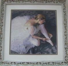 «Прекрасна балерина» (художник Д. Хоффман).  Автор Гульнара Закировна Кашепарова
