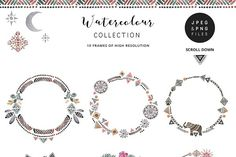 Peace&Love (watercolour collection) - Illustrations