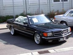 1984 Mercedes Benz W126 500SEC Cabrio