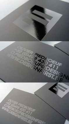 Spot UV - Business Card Inspiration: May 2012 Design Typo, Identity Design, Print Design, Visual Identity, Identity Branding, Corporate Identity, Design Design, Personal Identity, Cover Design
