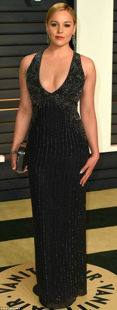 Abbie Cornish - WD108L - Vanity Fair Oscar Party #JennyPackham  www.jennypackham.com