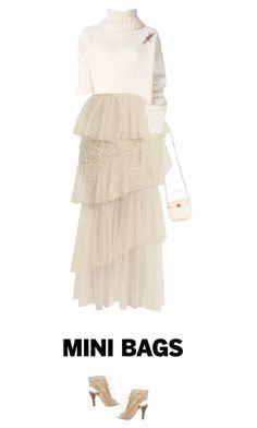 Designer Clothes, Shoes & Bags for Women Ann Demeulemeester, Mini Bags, Elie Saab, Chanel, Cute, Polyvore, Kawaii, Ellie Saab