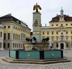 Ludwigsburg Schloss (Palace), Germany.