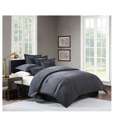 Black Denim Comforter