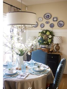 Die Küche, Dekoration, Südstaaten Bauernhaus, Bauernküchen, Bauernhausstil,  Bäuerliches Landhaus Ausstattung, Küchenmöbel, Esszimmer, Stühle