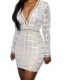 Mini robe crochet & dentelle à carreaux 34 AU 44 - bestyle29.com
