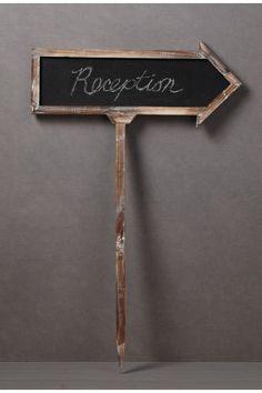 Blank Slate Sign - BHLDN