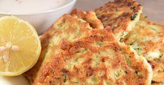 Maak eens courgettekoekjes met feta & munt. Courgettekoekjes met feta en munt. Eet de courgettekoekjes met een stukje vlees, vis of met een frisse salade