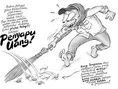 Kartun Benny, Tiga Manula: Penyapu Uang