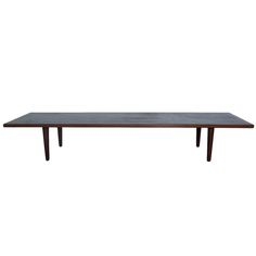 Hans Wegner Low Coffee Table in Teak | From a unique collection of antique and modern coffee and cocktail tables at http://www.1stdibs.com/furniture/tables/coffee-tables-cocktail-tables/