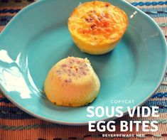 These copycat sous vide egg bites recipe have a velvety smooth texture for an on-the-go low-carb, high-protein breakfast.