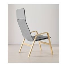 IKEA - NOLBYN, Chair high, black/black, , The armchair is easy to keep clean because the cushions are machine washable.The high back provides good support for your neck and head.The armchair is lightweight and easy to move if you want to clean the floor or rearrange the furniture.10-year limited warrranty. Read about the terms in the limited warranty brochure.