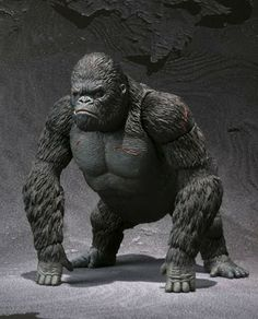 Bandai SH Monsterarts King Kong figure