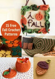 15 Free Fall Crochet Patterns