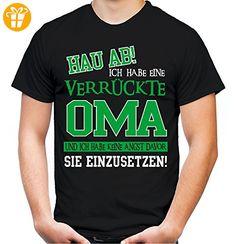 Verrückte Oma T Shirt | Geburtstag | Geschenk | Geschenkidee | Sprüche |  Zitate |