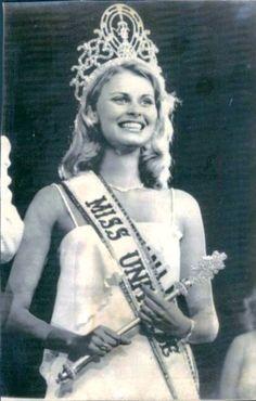 1975 Miss Universe - Anne Marie Pohtamo of Helsinki, Finland.