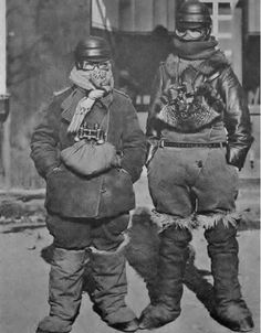 jasta11: German aircrew kitted-out for protection against...