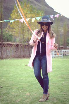 Look de hoy: Saco rosado
