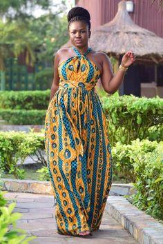 nice ~DKK ~African fashion, Ankara, kitenge, African women dresses, African prints…...