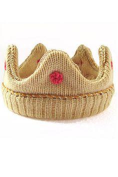 Les produits dérivés du bébé royal, la couronne en crochet