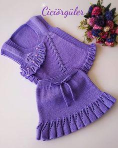 Crochet Baby, Crochet Bikini, Crochet Top, Baby Knitting Patterns, Knitting Designs, Baby Girl Skirts, Baby Design, Bikinis, Swimwear