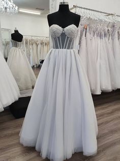 New in store our Alainis Deb Dress with illusion bodice and pleated full skirt Deb Dresses, Prom Dresses, Formal Dresses, Debutante Dresses, Bodice, Size 10, Illusion, Skirts, Store