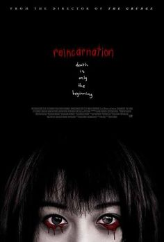 Reincarnation (2005) A Japanese actress begins having strange visions and experiences after landing a role in a horror film about a real-life murder spree that took place over forty years ago. (96 mins.) #movie