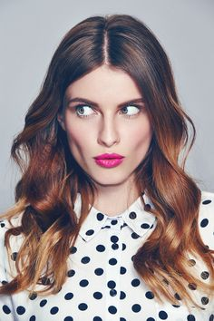 Give your outfit a colour pop with just a sweep of Pure Colour Bright Pink lipstick. #newlook #beauty