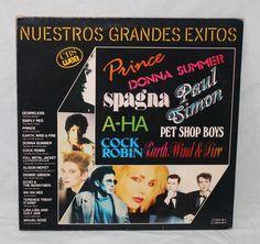 Nuestros Grandes Exitos – CBS/WEA – Hits 1987 – 2 Discos de Vinilo LP | Tienda – Shop – MilaToni – Cosas de Casa