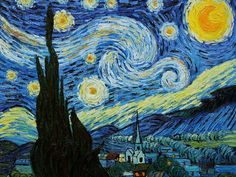 I got: The Starry Night! Which Famous Painting Are You?