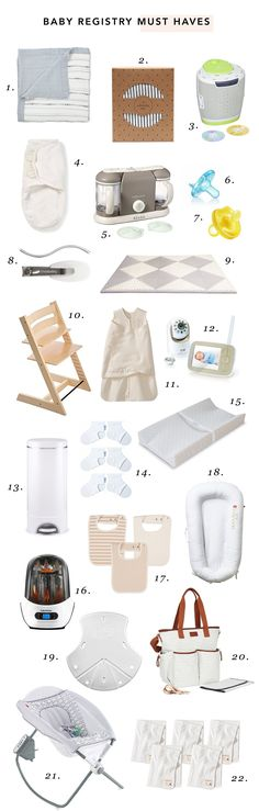 My Baby Registry Must-Haves | The Mama Notes