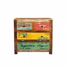 Alter, Bunt, Storage, Designer, Home Decor, Cowls, Vintage Advertisements, Old Wood, Recyle