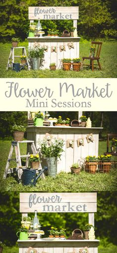 We've teamed up with local photographer Moments by Maredith to celebrate Spring with Flower Market mini sessions!