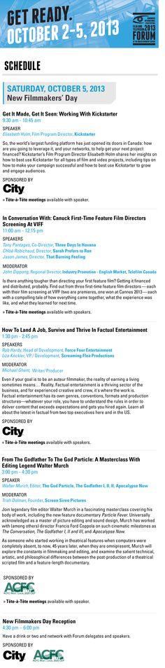 Forum Oct5 International Film Festival, Film Director, Feature Film, Master Class, Filmmaking, Vancouver, First Time, Entertaining, Cinema