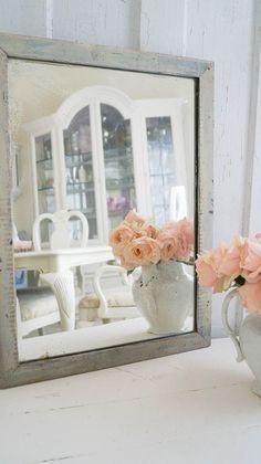 Elmer's Glue Crackle Finish - White Lace Cottage