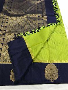 Ethnic Sarees, Indian Silk Sarees, Pure Silk Sarees, Indian Beauty Saree, Silk Saree Kanchipuram, Kanjivaram Sarees, Saree Color Combinations, Silk Sarees Online Shopping, Silk Saree Blouse Designs