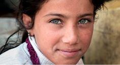 Syrienne aux yeux verts