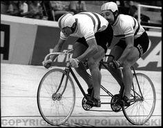 NTC - Leicester Velodrome - Tandem Champions - Trevor Gadd & Steve Cronshaw