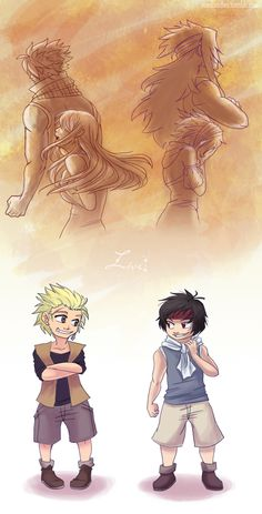 Live On (NaLu and GaLe) children by raesquared.deviantart.com on @deviantART