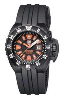 Here is the Luminox Deep Dive Automatic Watch for men. The watch comes with excellent water resistance, tritium illumination, and sapphire crystal. Tritium Watches, Automatic Watches For Men, Casio Watch, Diving, Deep, Accessories, Scuba Diving, Snorkeling, Jewelry