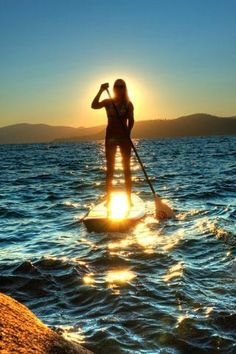 Stand Up Paddle Boards look like so much fun, I've heard they're quite challenging to get the hang of first. #MYRDreamVacation