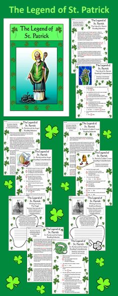 The Legend of St. Patrick Packet: