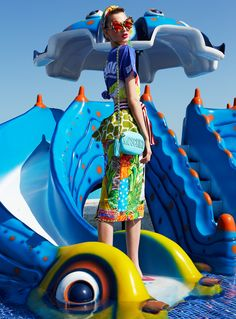 visual optimism; fashion editorials, shows, campaigns & more!: georgiana by dan beleiu for elle romania august 2015