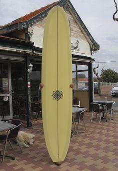 COOPER DESIGNS Malibu foil Longboard shaped by Californian Shaper : FOR SALE AT SPYDER Surf Shop
